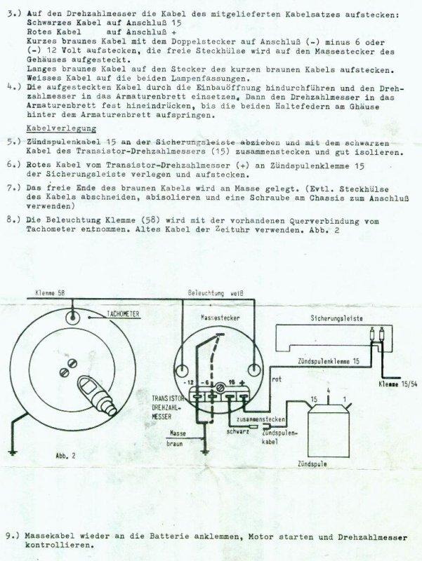 Aircult Blog » So baut man einen originalen VDO Drehzahlmesser in ...