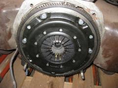 Motor und Kupplung