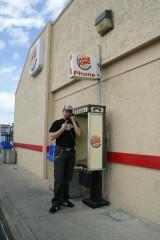 Burger King Phone zwischen Los Angeles und San Francisco